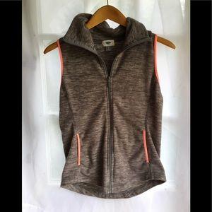 Old Navy Athletic wear Fleece Vest